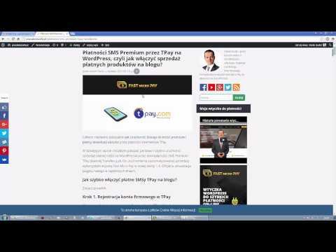SMS Premium TPay na WordPress - Płatny dostęp do treści - Wtyczka Fast Micro Pay