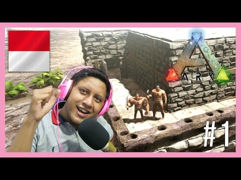 MAIN MULTIPLAYER ?! - ARK Survival Evolved Multiplayer Indonesia #1