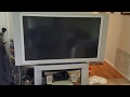FREE TV on Craigslist- Replacing a Panasonic Projection Light Bulb or Lamp