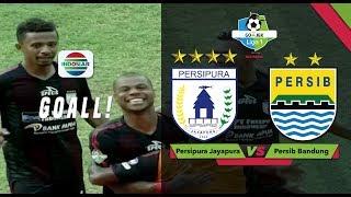 Goal Hilton Moreira - Persipura Jayapura (1) vs (0) Persib Bandung | Go-Jek Liga 1 Bersama Bukalapak