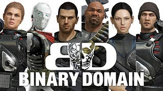 Two Best Friends Play Binary Domain Compilation