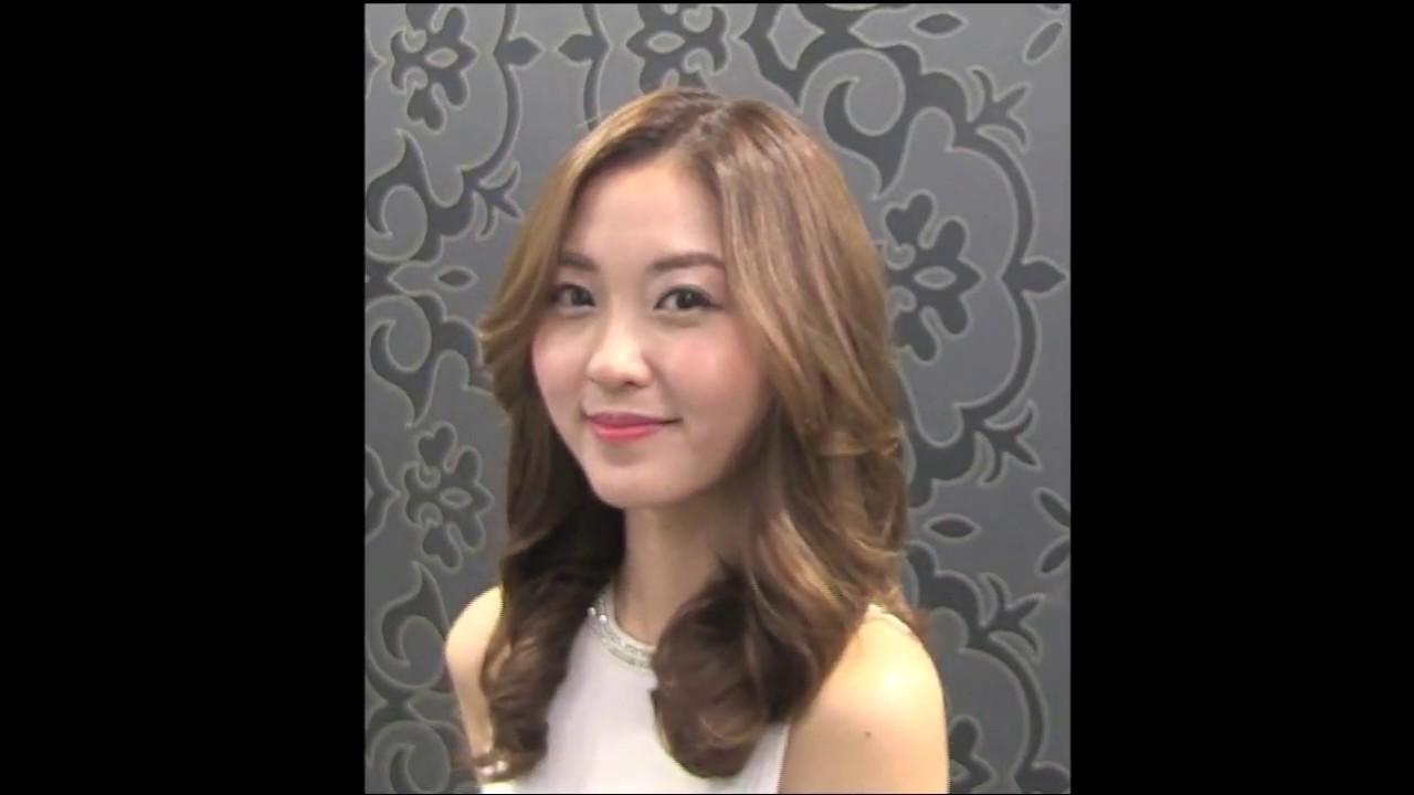 Korean Hairstylist Edward Kim New Trend Lovely Glam