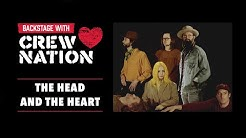 Backstage With Crew Nation: The Head and The Heart