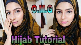 "Simple Everyday ""HIJAB"" makeuplook tutorial    Gujjugirlheena"