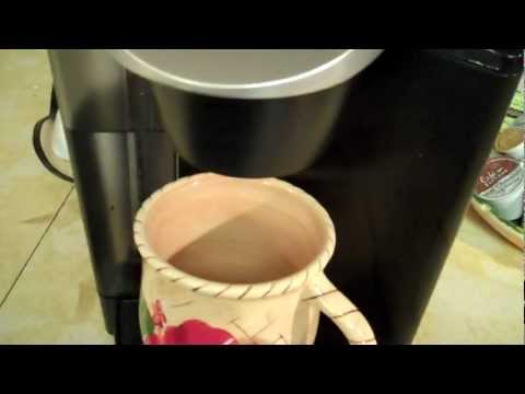 keurig #1 coffee maker fix. not pouring anymore
