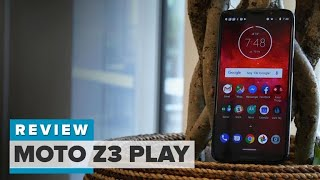 Moto Z3 Play review: The free battery pack is the best thing about this phone