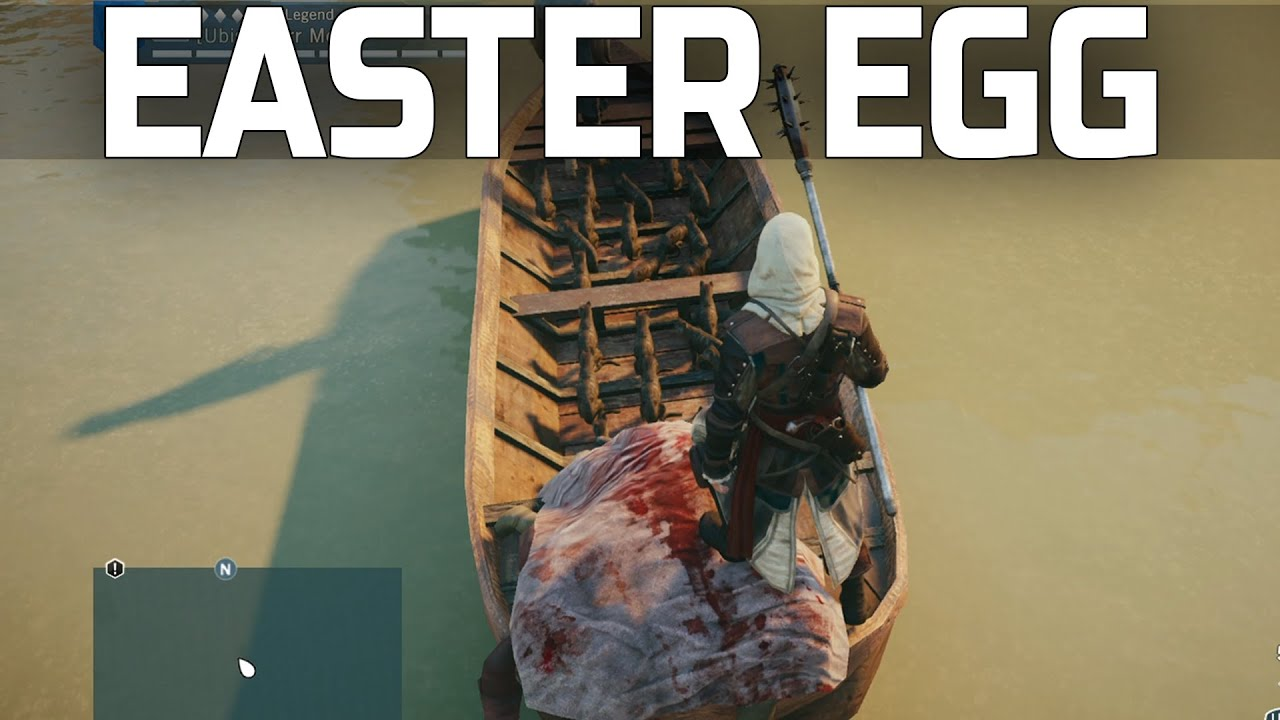 Assassin's Creed Unity - Weird Easter Egg! - YouTube