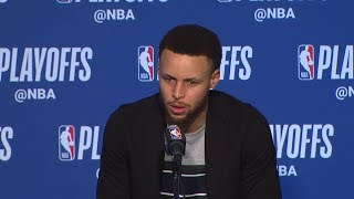Stephen Curry Postgame Interview - Game 2 | Clippers vs Warriors | 2019 NBA Playoffs