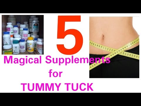 5 Supplement For Tummy Tucks, Rapid Inch Loss, Supplements And Vitamins For Tummy Tuck, Dr Shalini