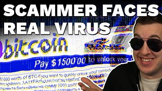 When Scammers Face REAL Computer Viruses