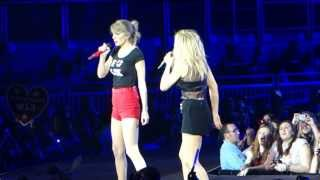 Taylor Swift invites Ellie Goulding - Burn - London O² Arena 11-02-2014 - [HD HQ 1080]