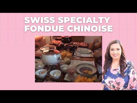 Swiss Specialty - Fondue Chinoise