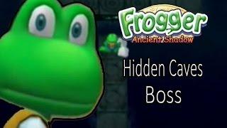 Frogger Ancient Shadow Hidden Caves Boss
