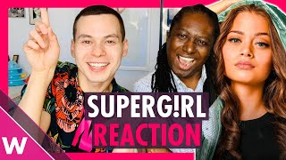 "Greece Eurovision 2020 Reaction | Stefania ""Supergirl"""