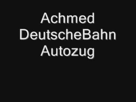 Achmed Deutsche Bahn Autozug