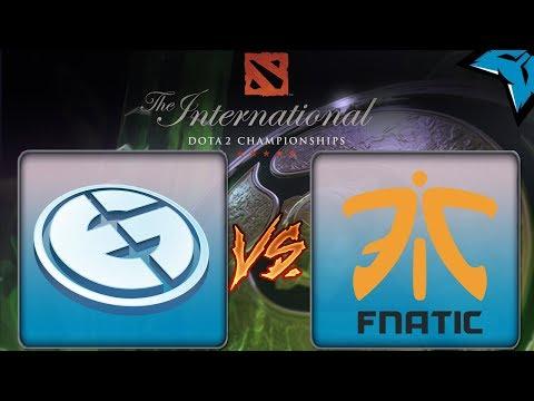 [PT-BR] EG vs Fnatic - Dota 2 The International 8
