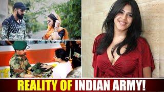 Reality Of Indian Army | Ekta Kapoor-Indian Army Controversy  | Sanju Sehrawat | Make A Change