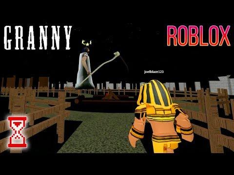 Игра на забагованном Кемпинге   Roblox Granny
