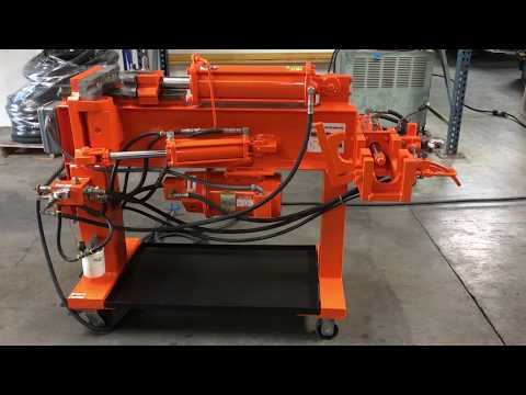 Huth Muffler Exhaust Hydraulic Pipe Bender with Dies 230V 3 Phase