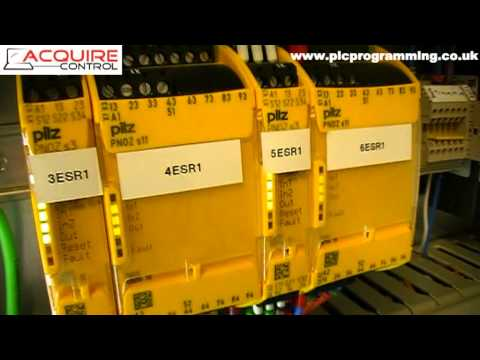 Pilz Safety Relay Wiring - UK Installation