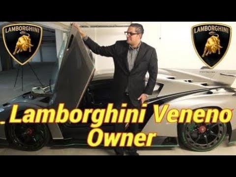 Lamborghini Veneno Owner In The World 2018 3 Out Of 1 Veneno