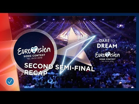 All The Songs Of The Second Semi-Final Of The 2019 Eurovision Song Contest