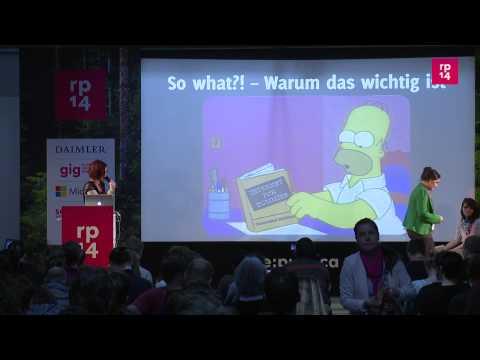 """re:publica 2014 - """"Into the Wild? Nicht mit mir!"""" -- Warum Menschen das Netz... on YouTube"""