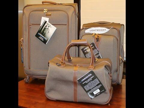 London Fog Sheffield & Oxford II Luggage Set Overview