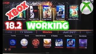 Kodi 18.2 blaze build Xbox one ????Working 2019