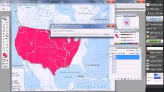 Видеоурок по созданию  анимированной Gif-карты