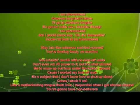 eminem phenomenal lyric video