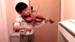 "A.Thomas - Gavotte from ""Mignon""  (Suzuki Violin 2-9)"