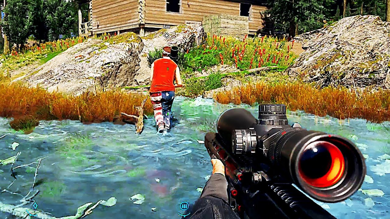 Far Cry 5 New Gameplay Trailer In The Mountains 2018 Ps4