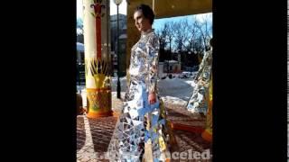 Зеркальное платье