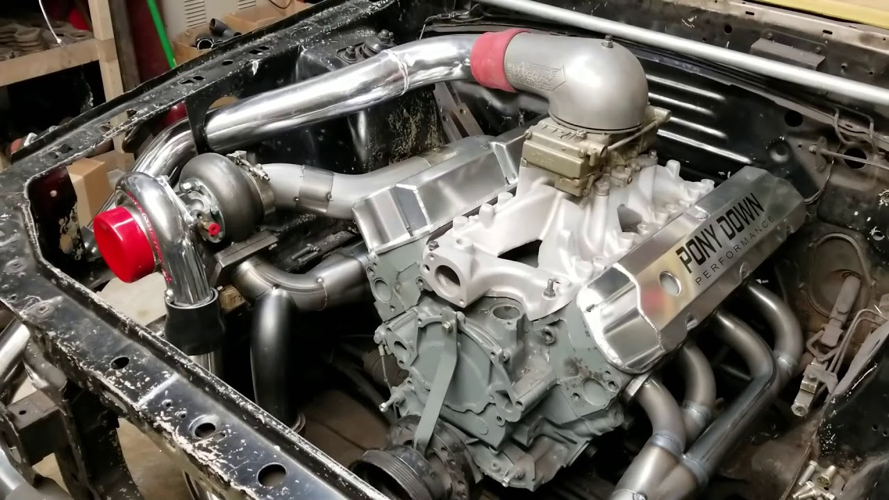 PONY DOWN - Stage 2 Single Turbo mustang kit overview