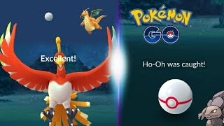 ( Ho-OH ) EASIEST WAY TO HIT THE EXCELLENT THROW - Pokemon GO