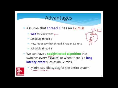 Chapt 11: Multithreading and vector processing, Part 4/5 (Smruti Sarangi)