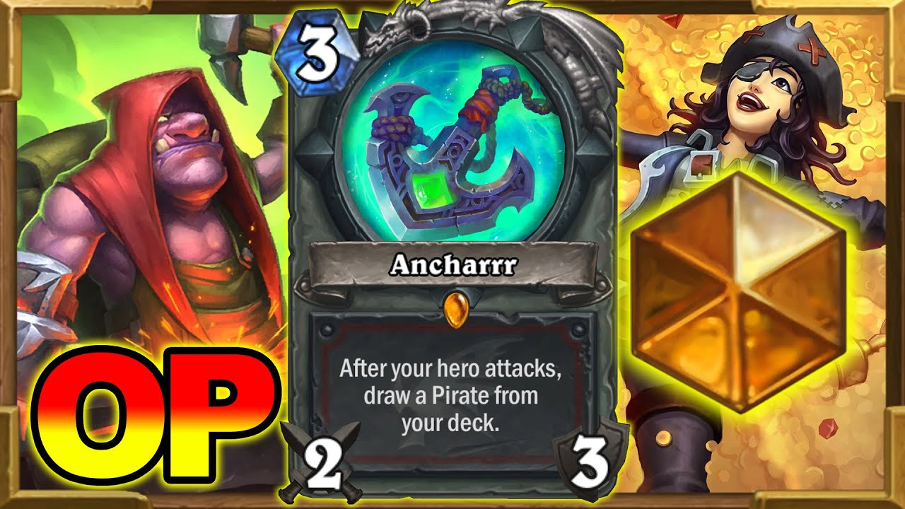 Best Deck To Get LEGEND! Pirate Warrior Is Totally Disgusting But I Love it So MUCH! | Hearthstone