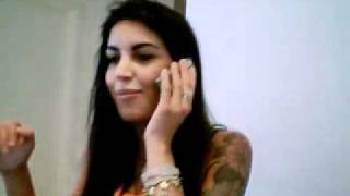 Veronica Ciardi in videochat by Luca Casadei Management - 2010 - parte 3