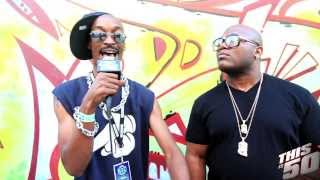 4-IZE talks DTP; 4-IZE vs Ludacris Project; Spits a Freestyle