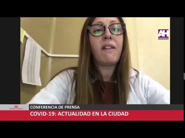 IGNACIO GASTALDI   ALBERTO QUEREDA   ROMINA SCLAVI   CONFERENCIA DE PRENSA COVID 19