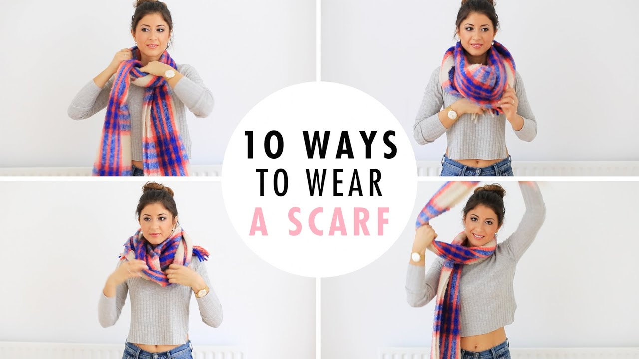 Ways to fold a scarf in your jacket pocket 6
