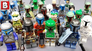 Every Boba Fett, Jango, and Mandalorian Minifigure Ever Made!!! 2019 Update