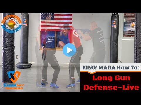 Long Gun Live Side Krav Maga Weapon Defense |Clearsky & RMSDF