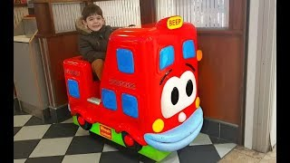 Ride on Cars Indoor Play Area Kids Fun Playing