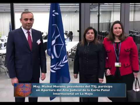 Presidente del TSJ participó en Apertura del Año Judicial de la Corte Penal Internacional