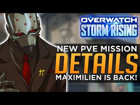 Overwatch: NEW PvE Mission Storm Rising - 2019 Archives Event Release Info!