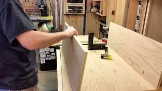 How to build a curio cabinet part 1...(l