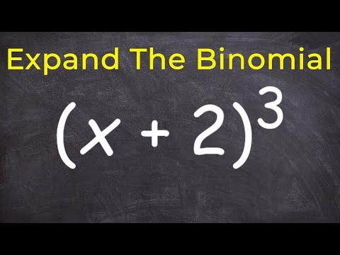 How to expand a binomial raised to the 3 power