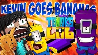 Minecraft Mods : Think's Lab - KEVIN GOES BANANAS!!! [Minecraft Roleplay]